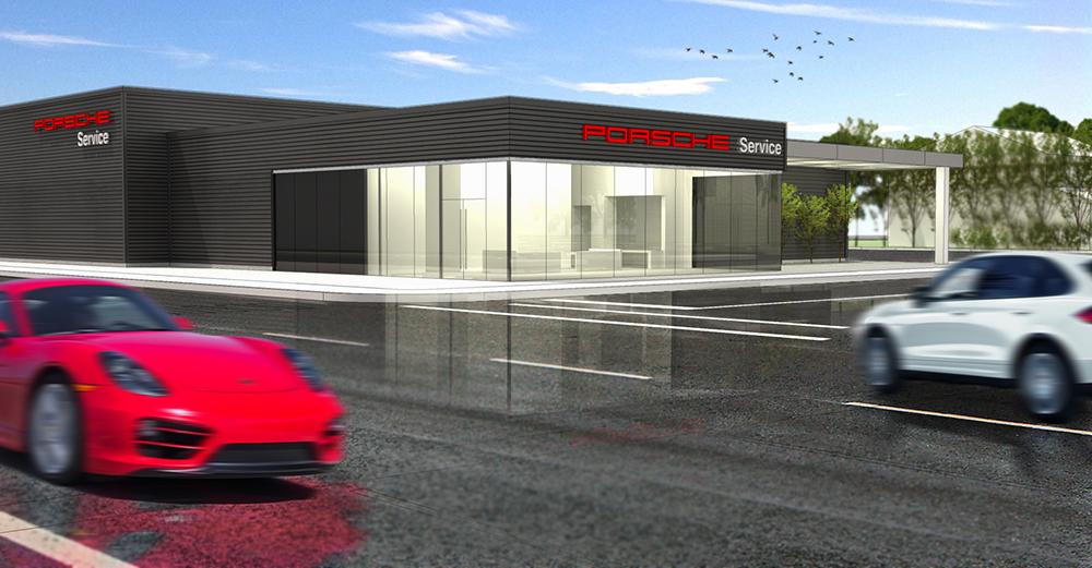 Porsche Dealership 3